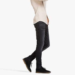 Lucky brand black rebel super skinny jeans